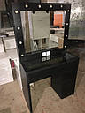 Стол для визажиста, парикмахера, зеркало с подсветкой, фото 4
