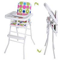 Детский стульчик для кормления HB 303-8-5. Гарантия качества. Быстрая доставка.