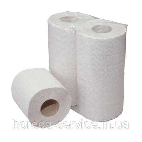 Туалетная бумага FESKO Standart 4 рулона.целлюлоза, фото 2