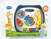 Музыкальный столик 2в1 для малышей 1089 ***