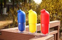 Бутылка для воды со стаканом 500 мл