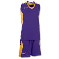 2fd771ea Баскетбольная форма женская фиолетово-золотая Joma SET SPACE 900121.550