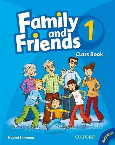Family and Friends 1,2,3,4,5,6 ч/б (комплект CB+WB)