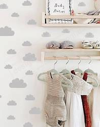 """Вінілові наклейки на стіни """"Міні-хмари"""""""