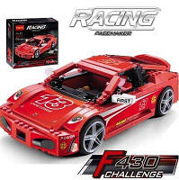 Конструктор Decool Racing 8613 Ferrari F430, 512  деталей