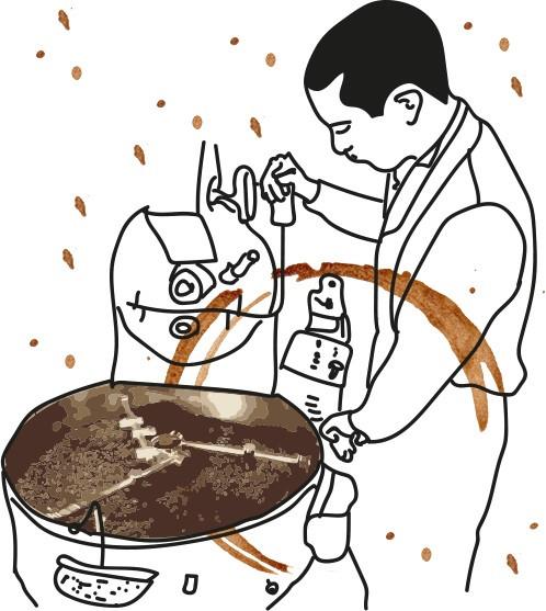 еженедельная обжарка кофе