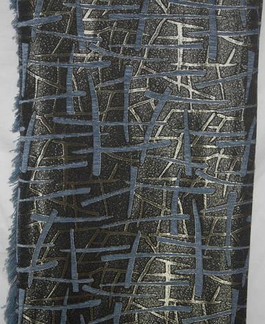 Покрывала двусторонние на большие кровати Брызги шампанского синий, фото 2
