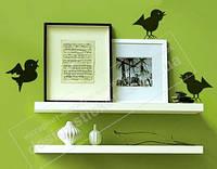 """Наклейка на стену  """"3 птички"""""""