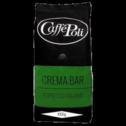 Caffe Poli Crema Bar Кави зерно 1кг