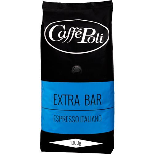 Caffe Poli Extra Bar Кофе зерно 1кг