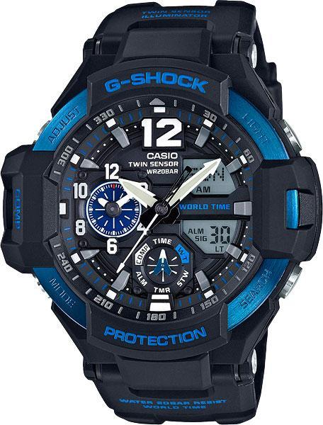 Часы Casio G-Shock GA-1100-2B GRAVITYMASTER В.