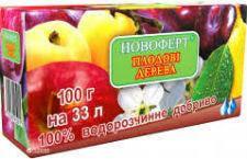 Удобрение Новоферт Плодовые деревья 100 г