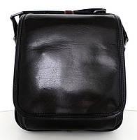 Мужская сумка- планшет. Натуральная кожа. Италия. Черный, фото 1