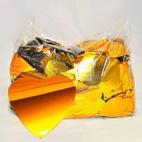 Конфетти сердечки, золотые, 100 грамм