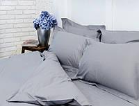 Сатин, серый однотонный для постельного белья