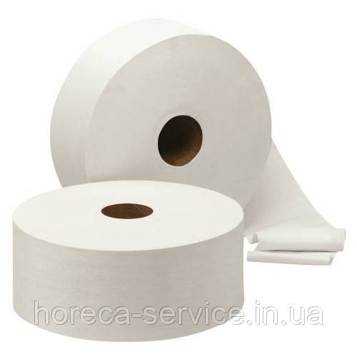 Туалетная бумага PRO-Service Standart однослойная белая 120 м.целлюлоза