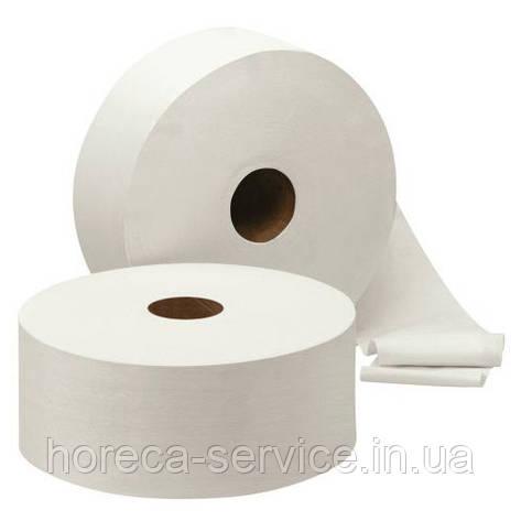 Туалетная бумага PRO-Service Standart однослойная белая 120 м.целлюлоза, фото 2