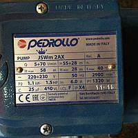 Акция Насос ITALI  PEDROIIO JSW 1.1 KW