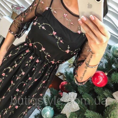 572b79f4e564176 Красивое платье органза с вышивкой только белое: продажа, цена в Харькове. платья  женские от