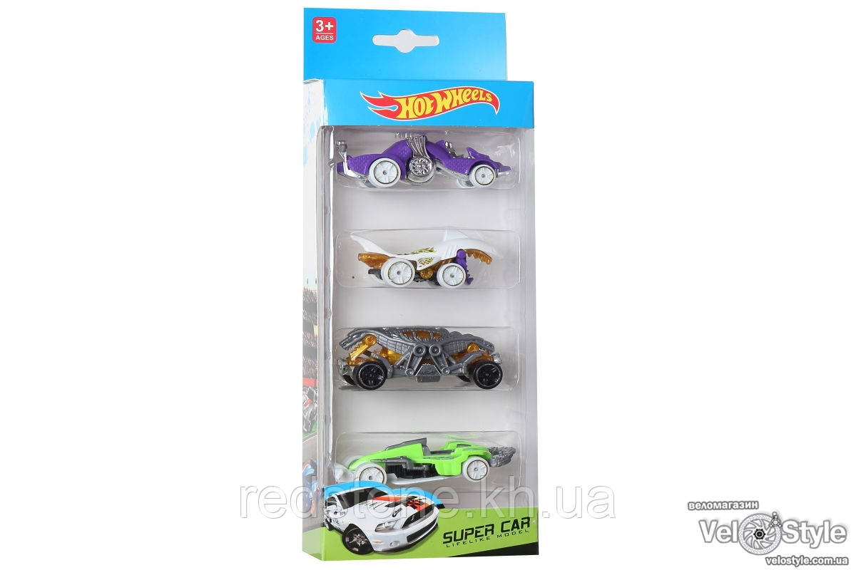 Машинки Hot Wheels 1603 (4 шт.)