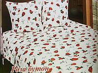 Полуторное постельное белье Роза бутон