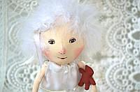 Текстильная кукла Ангел