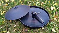 Необычная Сковорода из диска с отверстием для быстрого приготовления