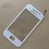 Сенсорное стекло Samsung Galaxy Ace S5830 белое
