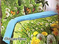 Полуторное постельное бельё Одуванчики