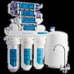 Система зворотного осмосу Smart Osmo 7 (300 л/добу) з мінералізатором і биоактиватором