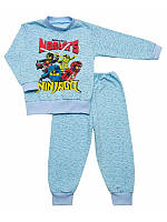 Пижама для мальчика с начесом Ниндзяго