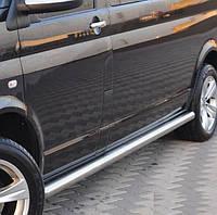Подножки, Трубы на Toyota Rav-4 (c 2013---) Тойота Рав 4