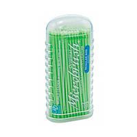 Аппликаторы микробраш для нанесения жидкостей (100 шт. в упаковке), Microbrush (США) 2 мм (зеленые)