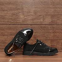 7112.1  Женские туфли на шнуровке: 35; 36; 37; 38; 39; 40; 41