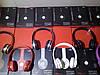 Беспроводные наушники S460 Bluetooth с MP3 плеером красные, фото 2