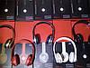 Беспроводные наушники S460 Bluetooth с MP3 плеером красные, фото 3