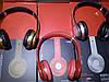 Беспроводные наушники S460 Bluetooth с MP3 плеером красные, фото 4