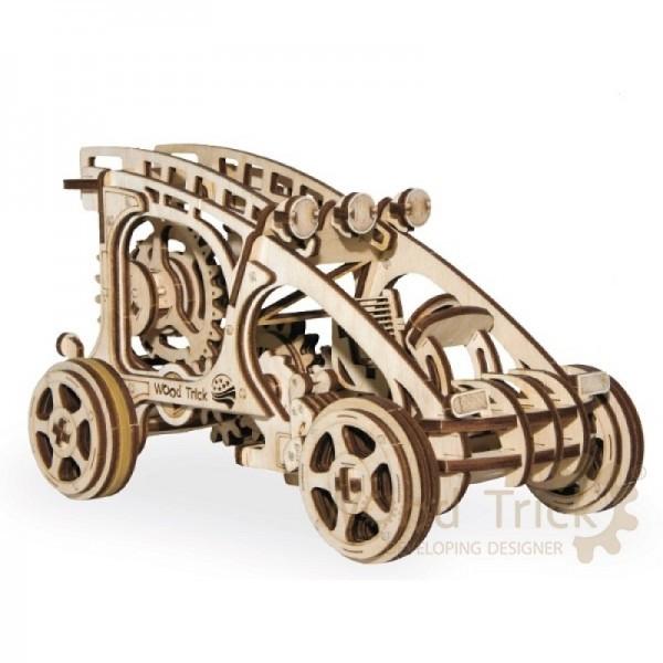 Модель механическая Багги дерево Wood Trick