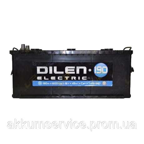 Аккумулятор грузовой Dilen Electic 190AH 3+ 950A
