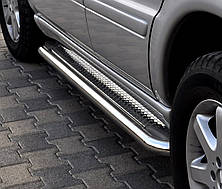 Подножки на Peugeot Bipper (c 2008---) Пежо Биппер PRS
