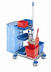 Сервисная тележка для уборки