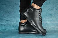 Мужские зимние ботинки  Mi Lord черные 10409