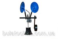 Картофелесажалка КСОП - 1 (AGROMARKA) для мотоблока оборотная с опорным колесом, фото 2