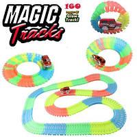 Magic Tracks (Мэджик Трек) 160 деталей , прозрачная трасса