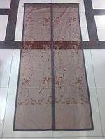 Сетка москитная на магнитах 90*210см коричневая№903, фото 1