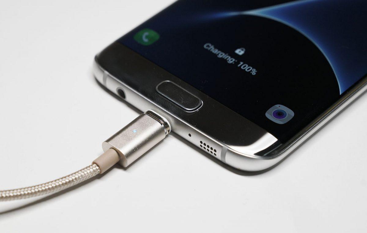 Магнитный кабель ASAP X-Connect microUSB (Android) зарядка 2.4А (Silver)