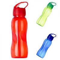 Спортивная бутылка-поилка 750 мл (17226) Пластик и силикон