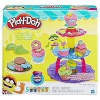 "Набор Плей До ""Башня из кексов"" (Play-Doh Sweet Shoppe Cupcake Tower Set), hasbro"