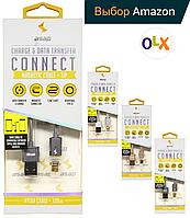 ⭐⭐⭐⭐⭐Магнитный кабель ASAP X-Connect microUSB Android зарядка 2.4А (GunMetal), фото 1