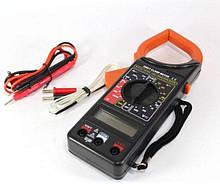 Мультиметр / цифровий тестер DT-266FT Струмові кліщі AC